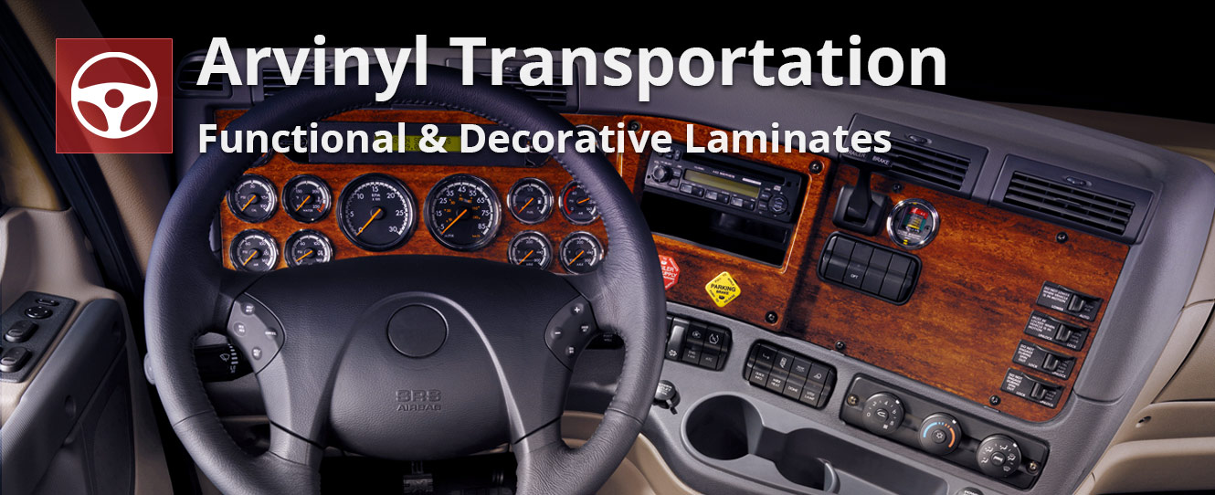 transportation slider - dashboard laminate