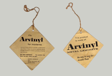 Arvin product tags