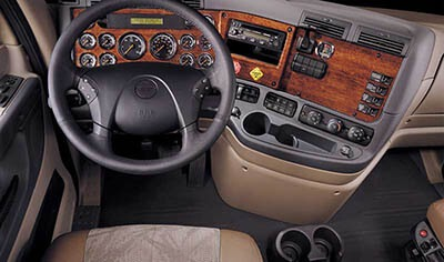 dashboard laminates, cab and sleeper panels