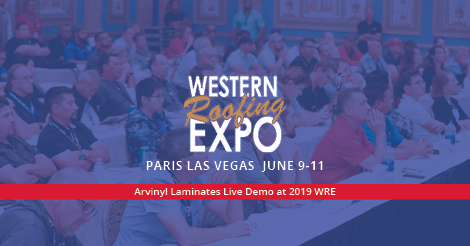 Western Roofing Expo Arvinyl Live Demo Press Release