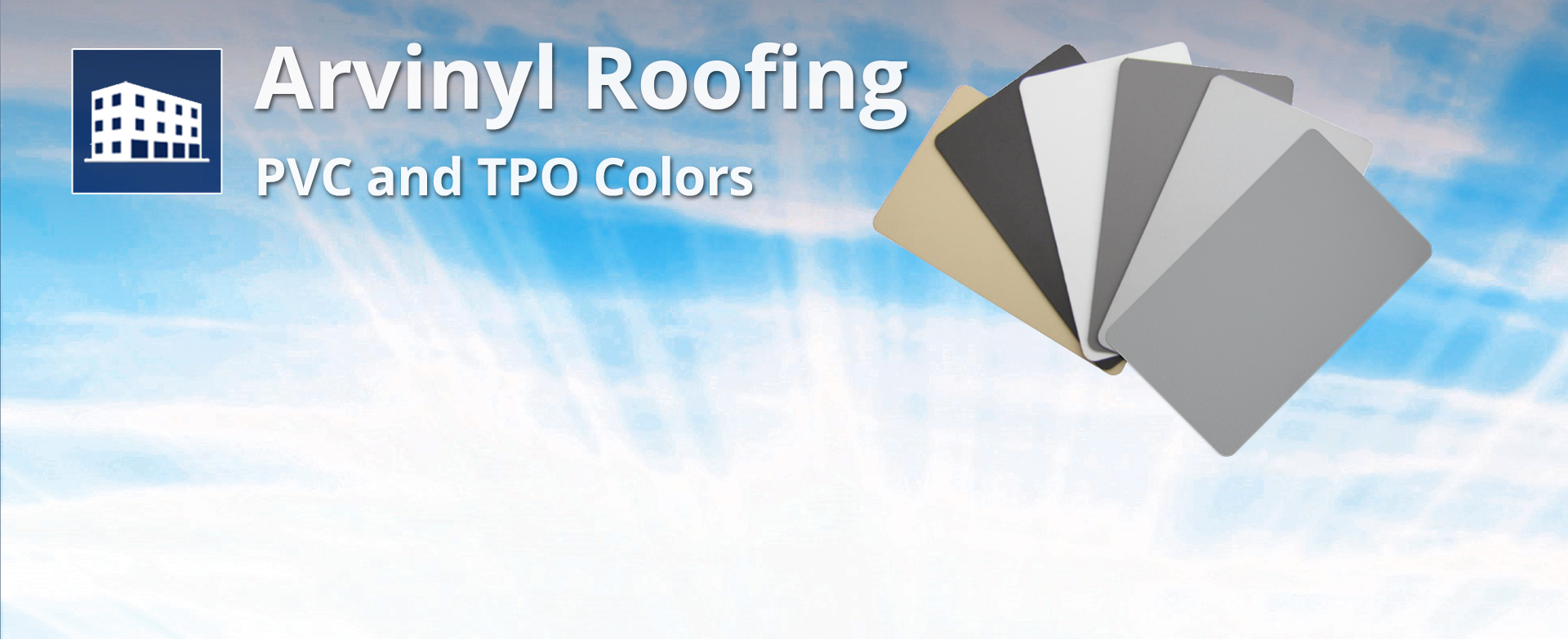 PVC and TPO colors